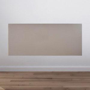 Инфракрасный керамический обогреватель Никатэн NT 650, 650Вт Кофе, 1200х600х40 33м3 (13м2, потолки 2.5м)