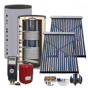 Солнечная сплит-система для ГВС и отопления дома — один теплообменник