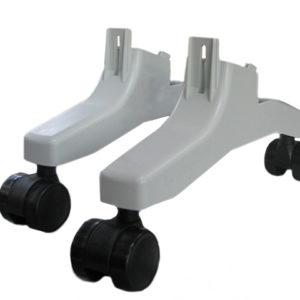 Ножка опорная с колесами к конвекторам Термия ЭВНА (комплект 2шт) (КОА-03) (ТЕРМИЯ)