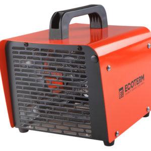Нагреватель воздуха электр. Ecoterm EHC-02/11, кубик, 1 ручка, 2 кВт., 220В (кубик, 2 кВт, 220 В, вес 2 кг) (ECOTERM)