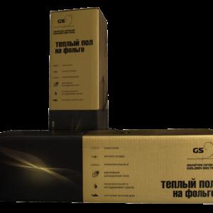 Двужильный нагревательный  мат на фольге «Золотое сечение» (GS)