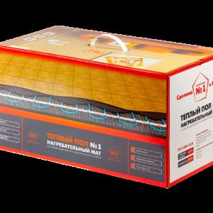 Двужильный нагревательный  мат «Теплый пол №1» (ТСП)