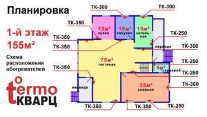 Проекты электроотопления домов