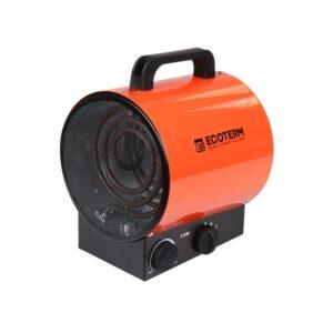 Нагреватель воздуха электр. Ecoterm EHR-02/1E (пушка, 2 кВт, 220 В, термостат) (ECOTERM)