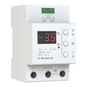 Терморегулятор для управления системой снеготаяния terneo sn